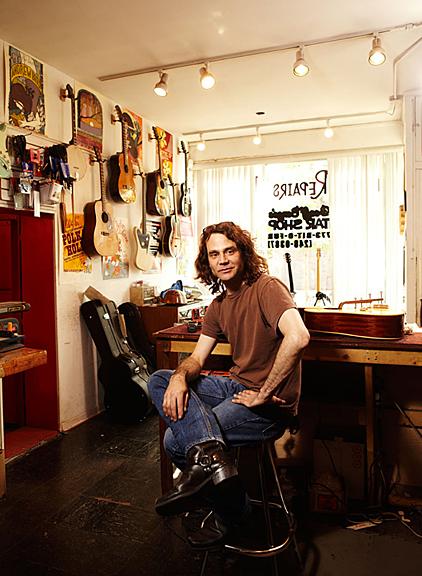 Geoff Benge, Geoff Benge's Guitar Shop